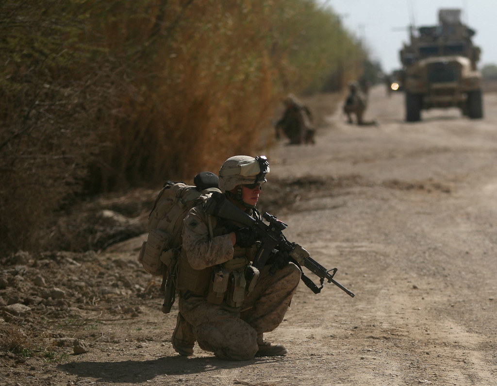 """""""Where Are the Taliban? Insurgents Avoiding Marines, Afghan National Army in Marjah"""" by DVIDSHUB is licensed under CC BY 2.0"""