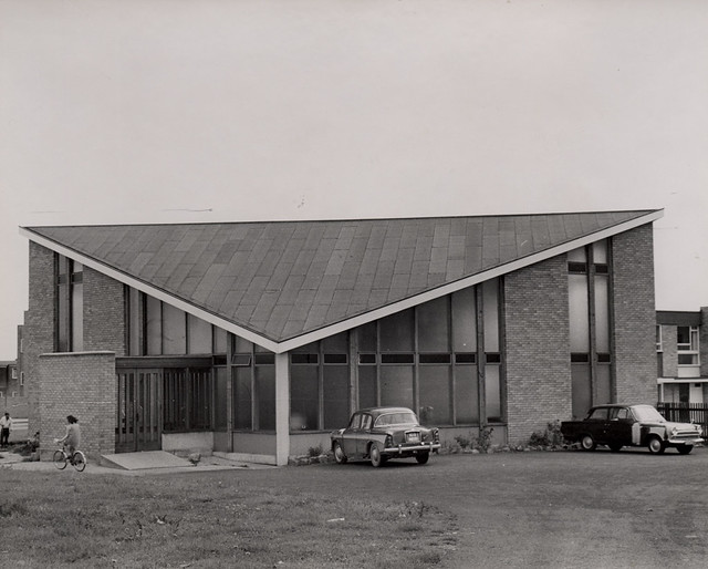 022078:St. Wilfrid's Church Newbiggin Hall Unknown 1971