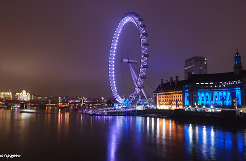 Eye at the Thames by JdJ Photography (www.jdj-photography.nl)