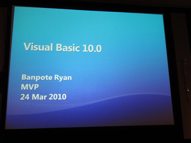 Visual Basic 10.0
