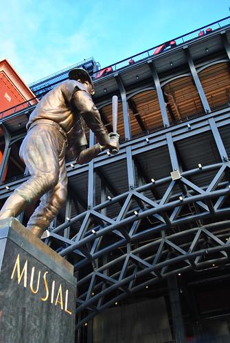 Stan Musial, Busch Stadium | by michaelnpatterson