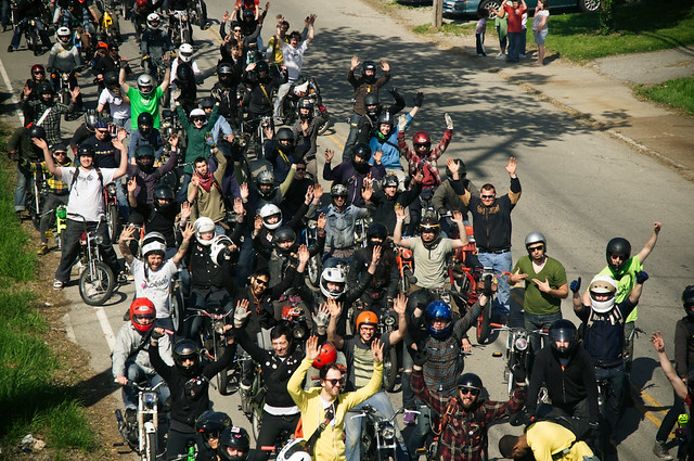 Moped Rally 2010! | Complete set of photos here, www faceboo… | Flickr