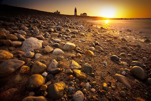 longexposure lighthouse beach sunrise rhodeisland 5d narragansett canonef1740mmf4l pointjudithlighthouse bw30nd