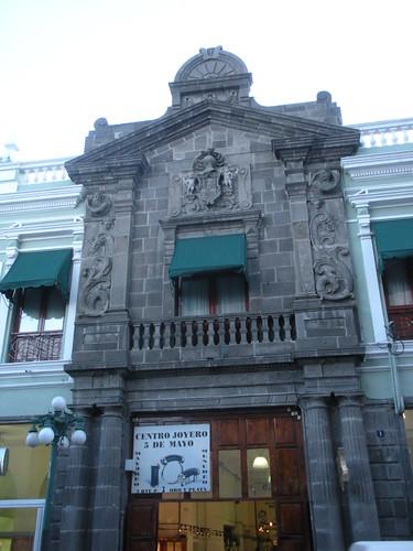 Calle Cinco de Mayo in Puebla