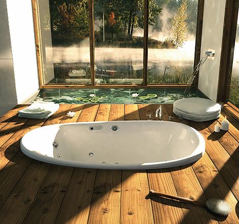 Unique Bathroom Ideas Ambrosia Bathtub 2 Natural Bathroom Flickr