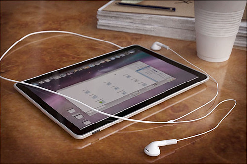 Apple iPad Tablet Concept