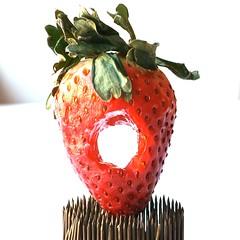 RaD 19/365 strawberry ring | by grindstonegirl ( kathi roussel )