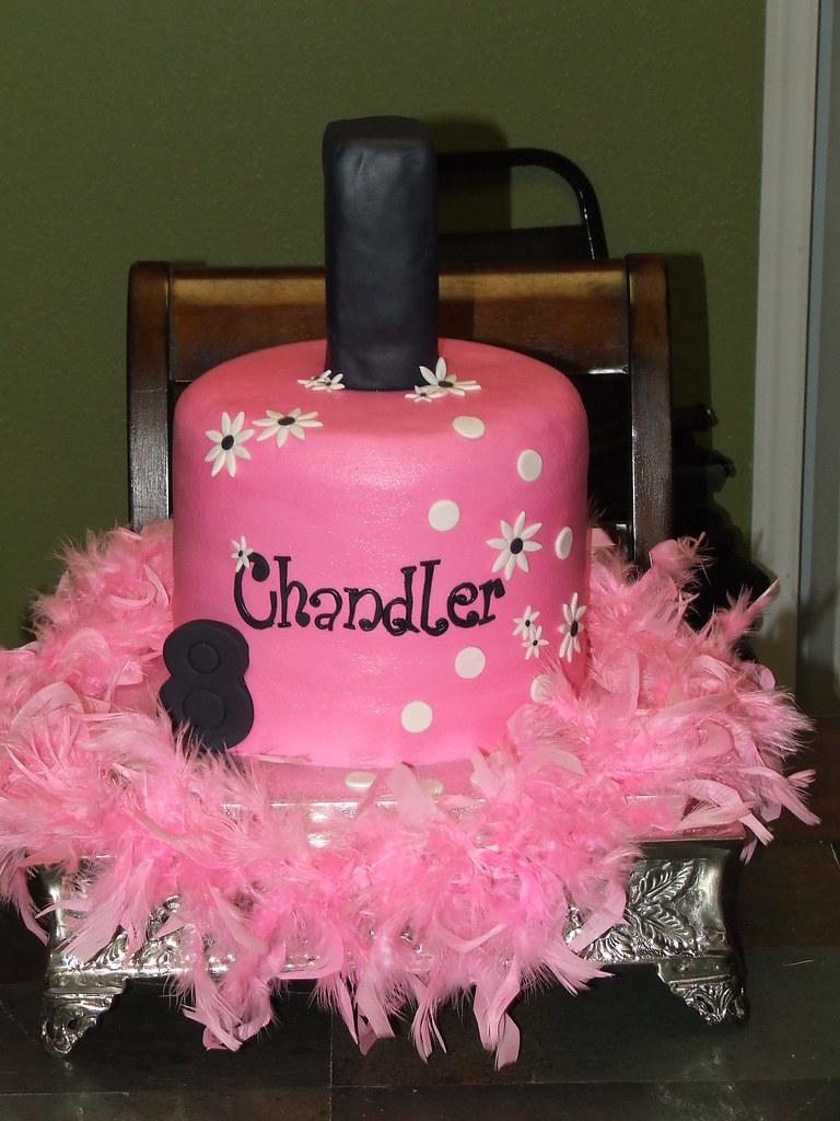 Enjoyable Nail Polish Bottle Birthday Cake A Photo On Flickriver Funny Birthday Cards Online Inifodamsfinfo