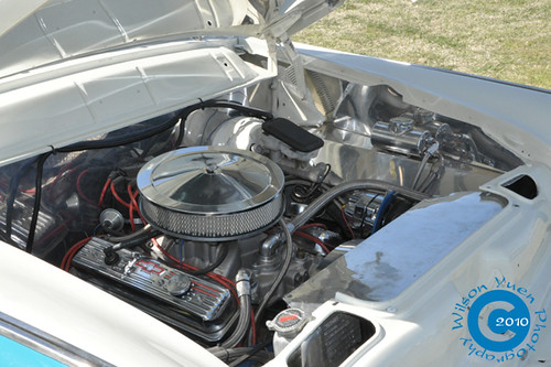 1956 Ford Crown Victoria | 350 Chevy V8 engine swap | Flickr