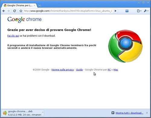 Google Chrome Beta for Linux -  deb download | Nicola D'Agostino
