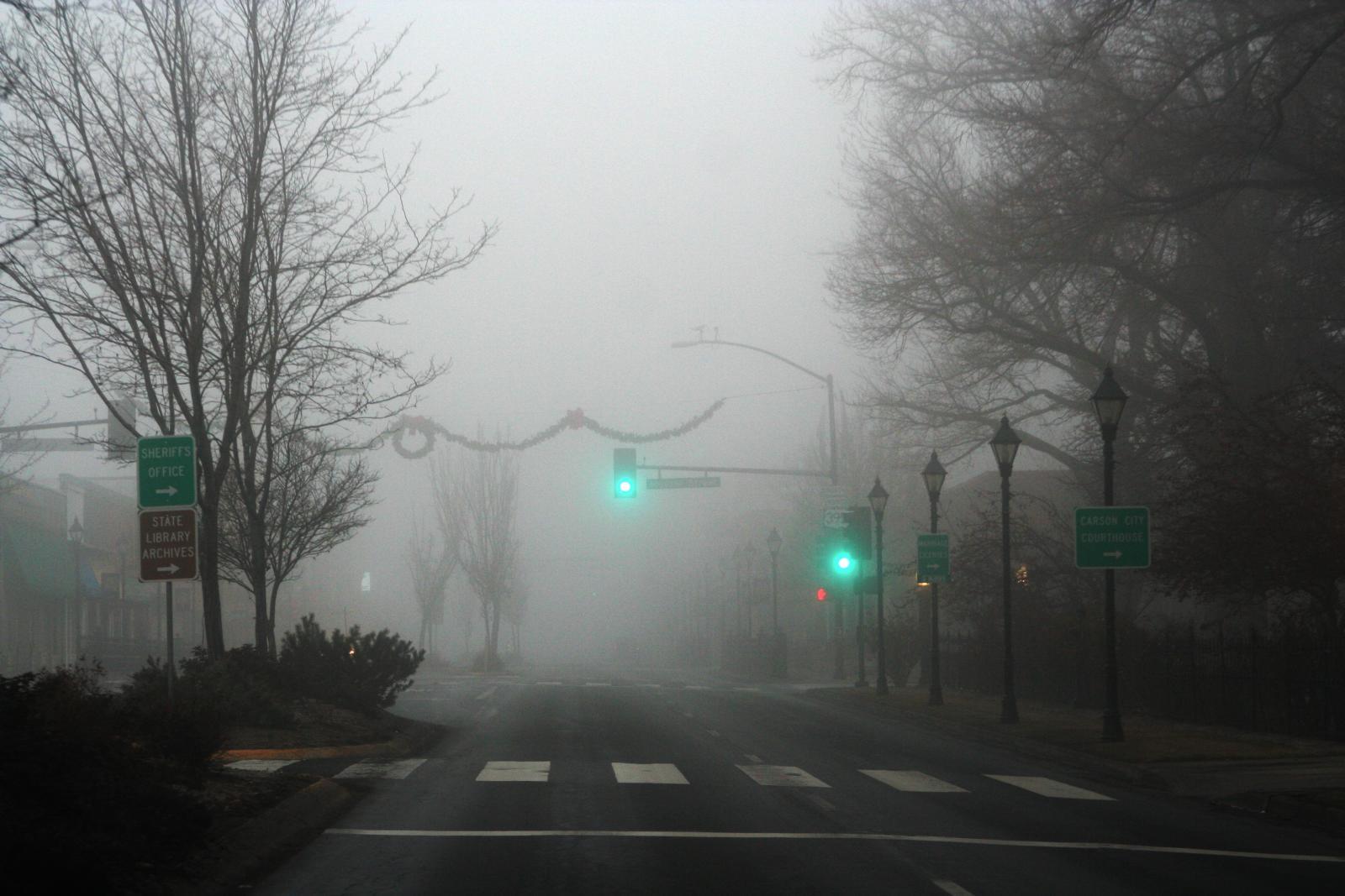 Carson City Fog - Around Carson