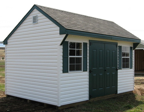Quaker | Vinyl Sheds | Backyard Shed | Virginia | by Alans Factory Outlet
