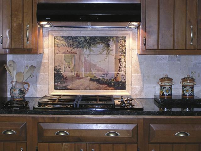 Kitchen Backsplash Tile Mural Amalfi Dia Cappuccini | Flickr