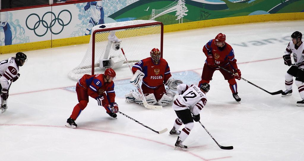 Russia vs. Lativa - Men's Hockey