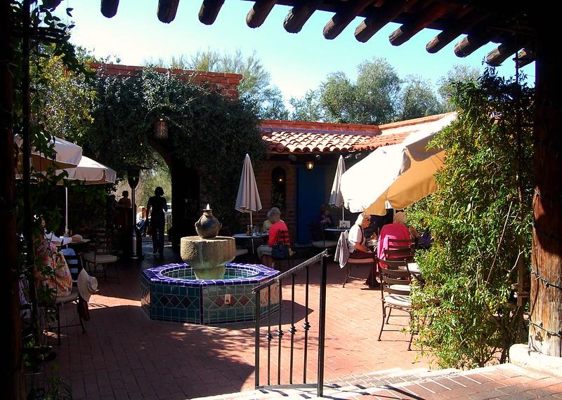 Tea Room at Tohono Chul Park, Tucson, Arizona