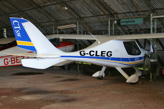 G-CLEG - 2007 build Flight Design CTSW, Barton resident