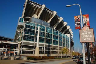 Cleveland Browns stadium, empty | by agperson
