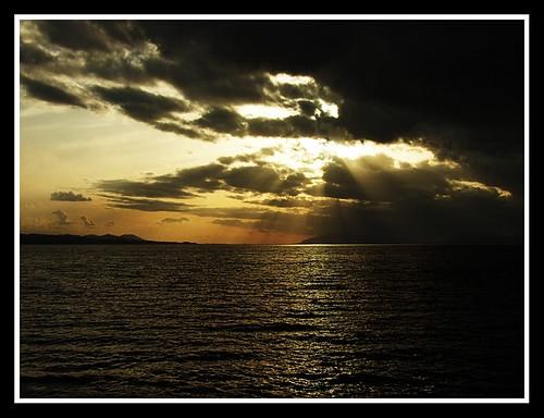 sunset storm color nature japan reflections landscape 日本 matsue shinjiko 松江 宍道湖 fujis6500