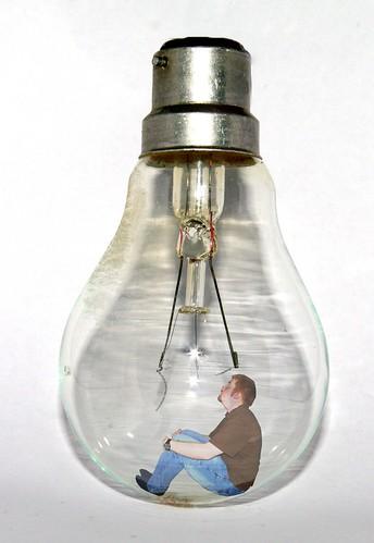 lightbulb idea | by .digitalight