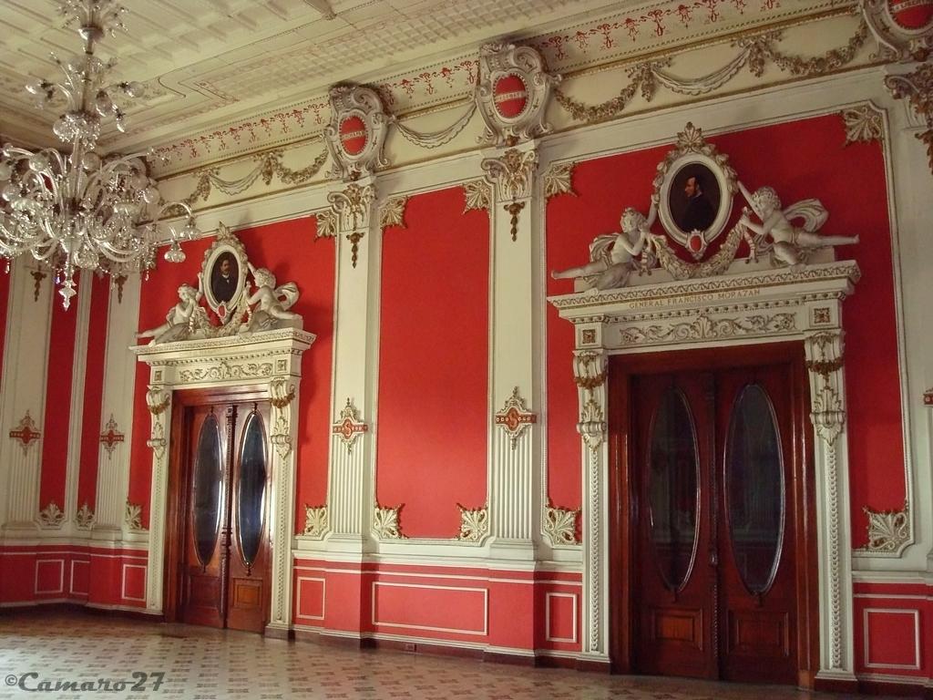 Palacio Nacional de El Salvador Salón Rojo Ubicado en el s… Flickr