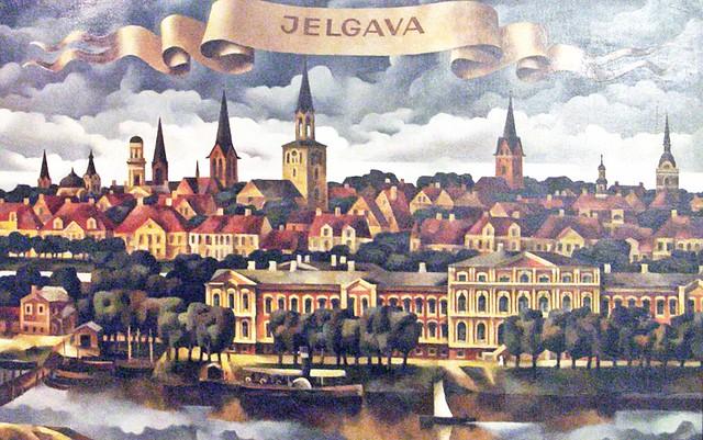 004 Jelgava - Gemaelde