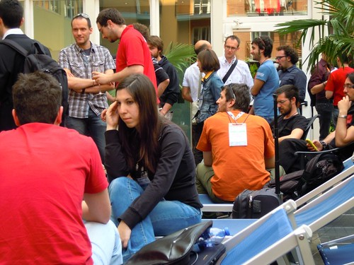 Relaxing at phpDay2011 | by Tassoman