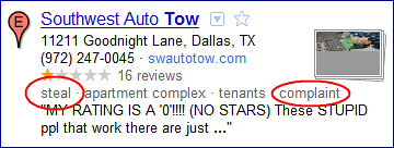 Southwest Auto Tow >> Southwest Auto Tow In Dallas Texas Steal Complaint Is