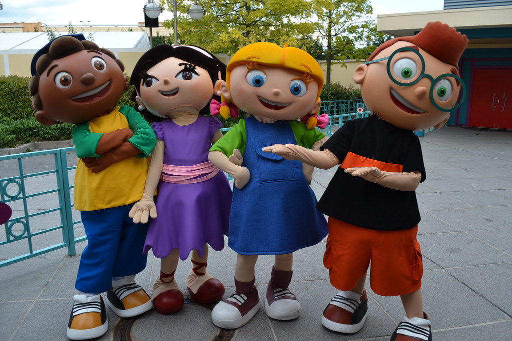 Meeting the Little Einsteins at Playhouse Disney: Live on
