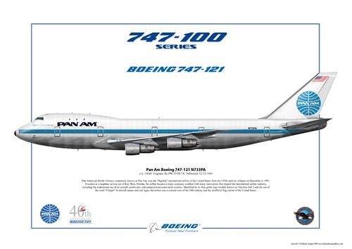 Pan Am Boeing 747-121 N733PA