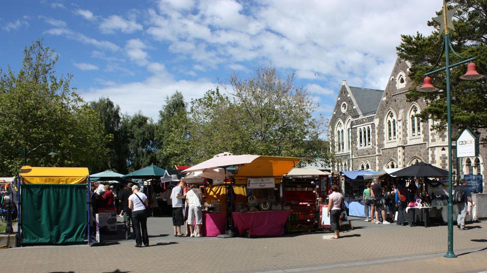 Christchurch market