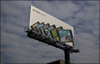 NY2009 - 2189 - iPod touch billboard | by Πichael C.