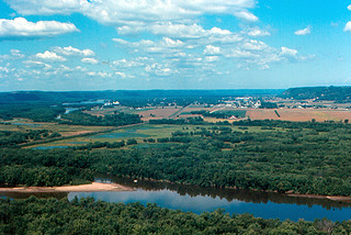 Prairie du Chien from Wyalusing State Park | by roger4336
