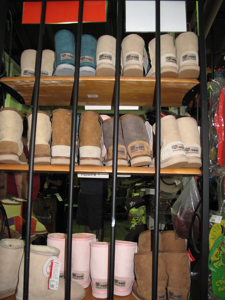 Ugg boots | These Ugg boots seen in Fremantle market are not