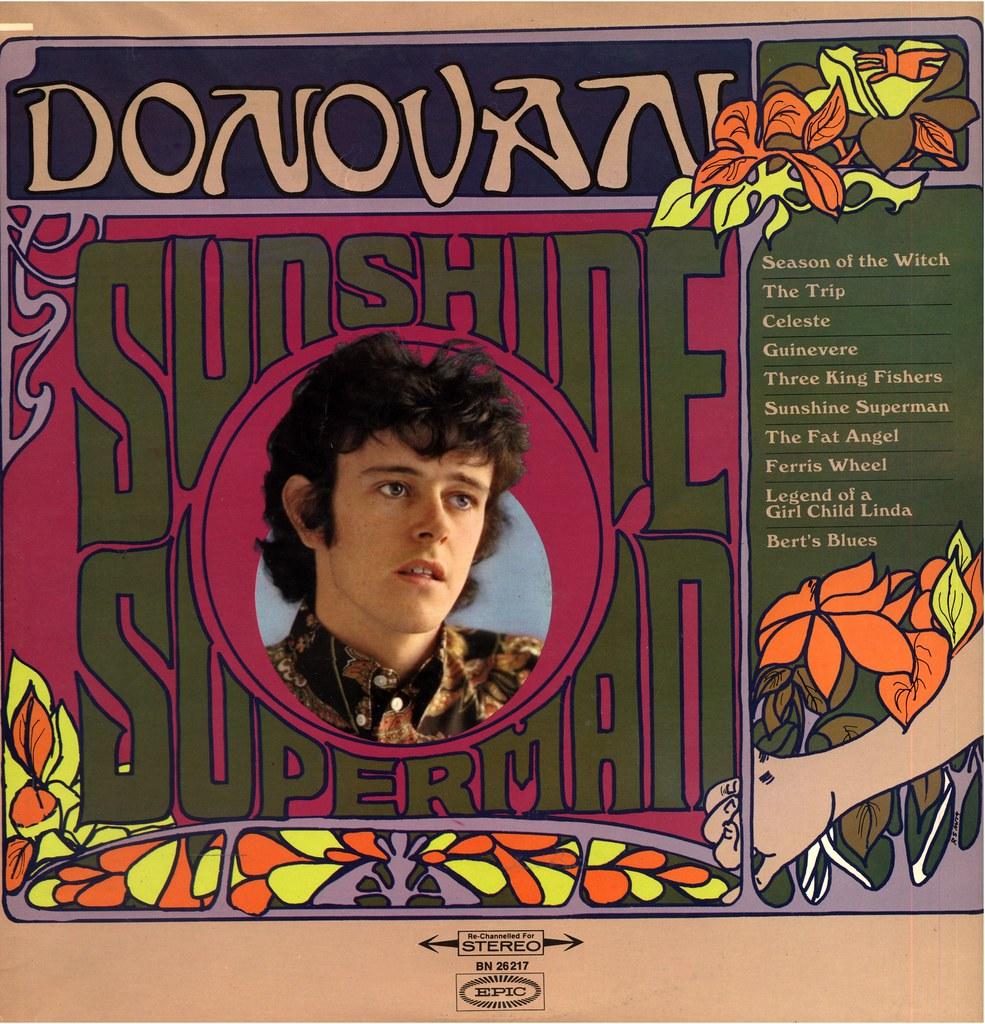 7 - 1967 - Donovan - Sunshine Superman - D   German Issue   Klaus Hiltscher    Flickr