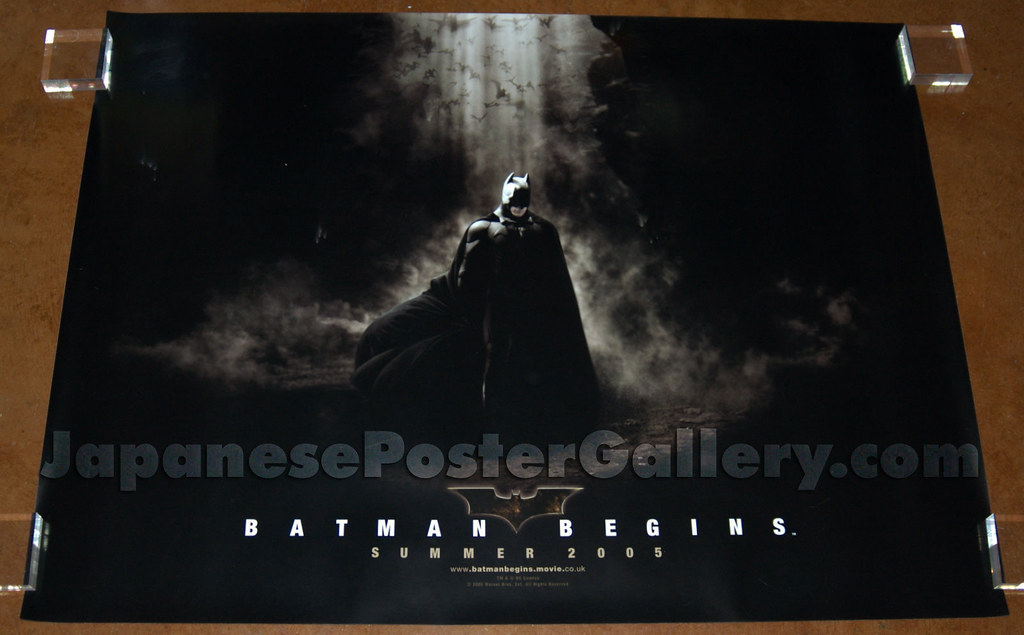 Batman Begins  UK quad (advance)   Erich Linder   Flickr