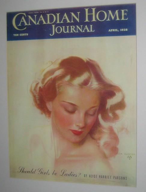 Rex Woods: Canadian Home Journal -- April, 1938  