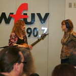 Thu, 18/03/2010 - 11:24am - Patty Larkin & Claudia Marshall live on the air on and for Marquee Members in Studio A on 3/18/10 .  photos copyright 2010 -gaylemiller.com