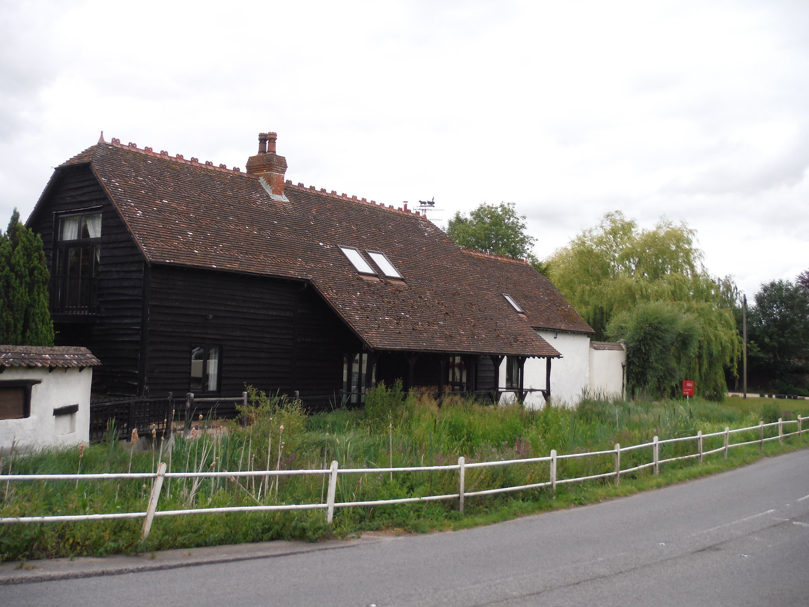 Mill Barn, Coombe Bissett (2) SWC Walk 254 Salisbury Circular