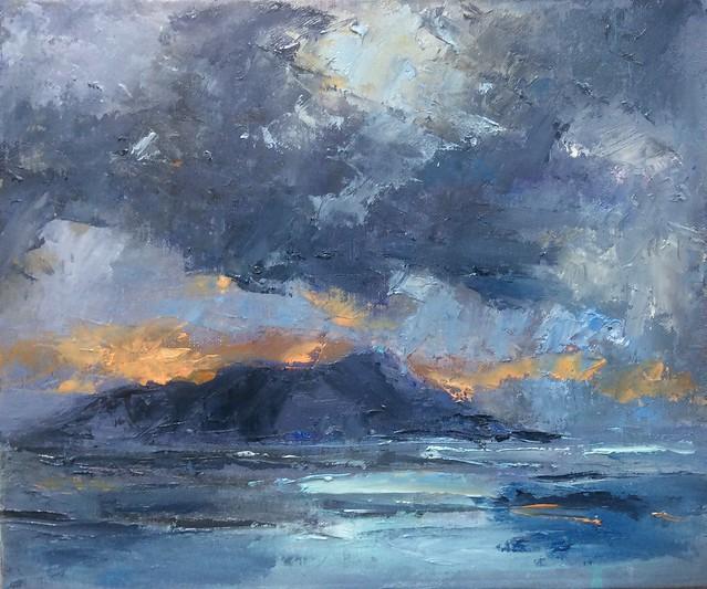 Storm Clouds - Holy Isle Lamlash