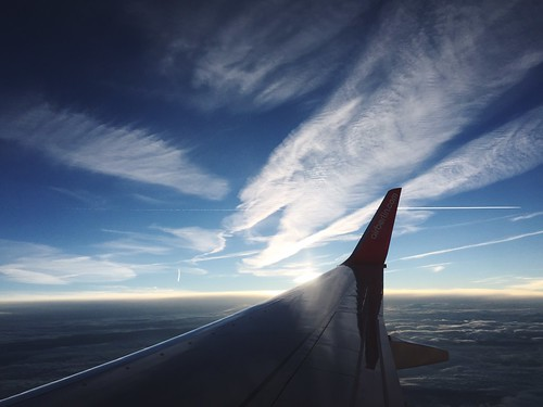 sunset project365 fromanairplanewindow 2015in365photos