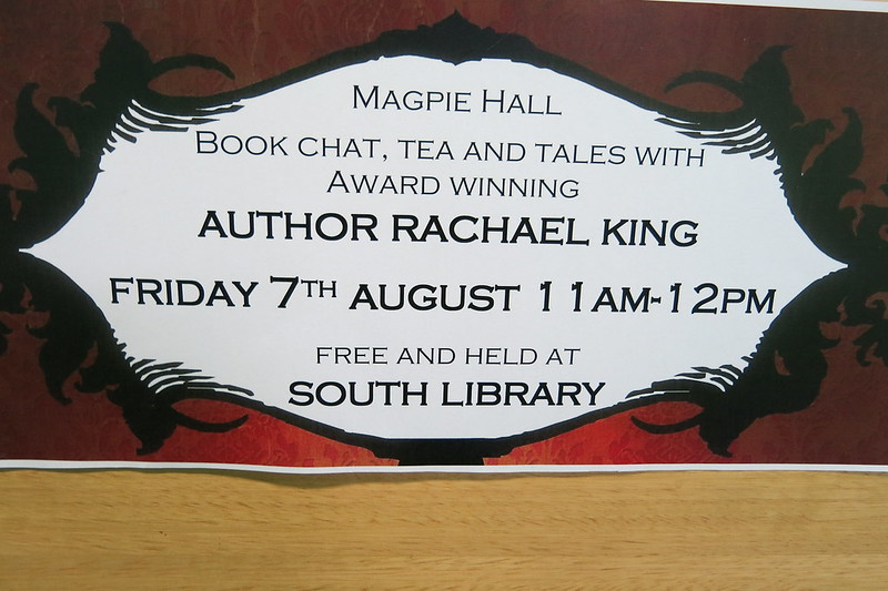 Sign - Community Read of Magpie Hall by Rachael King
