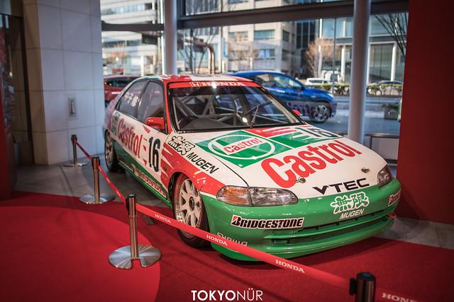 Auto Motor Playground ''TOKYO'' // CIVIC Racing History at Honda Welcome Plaza Aoyama