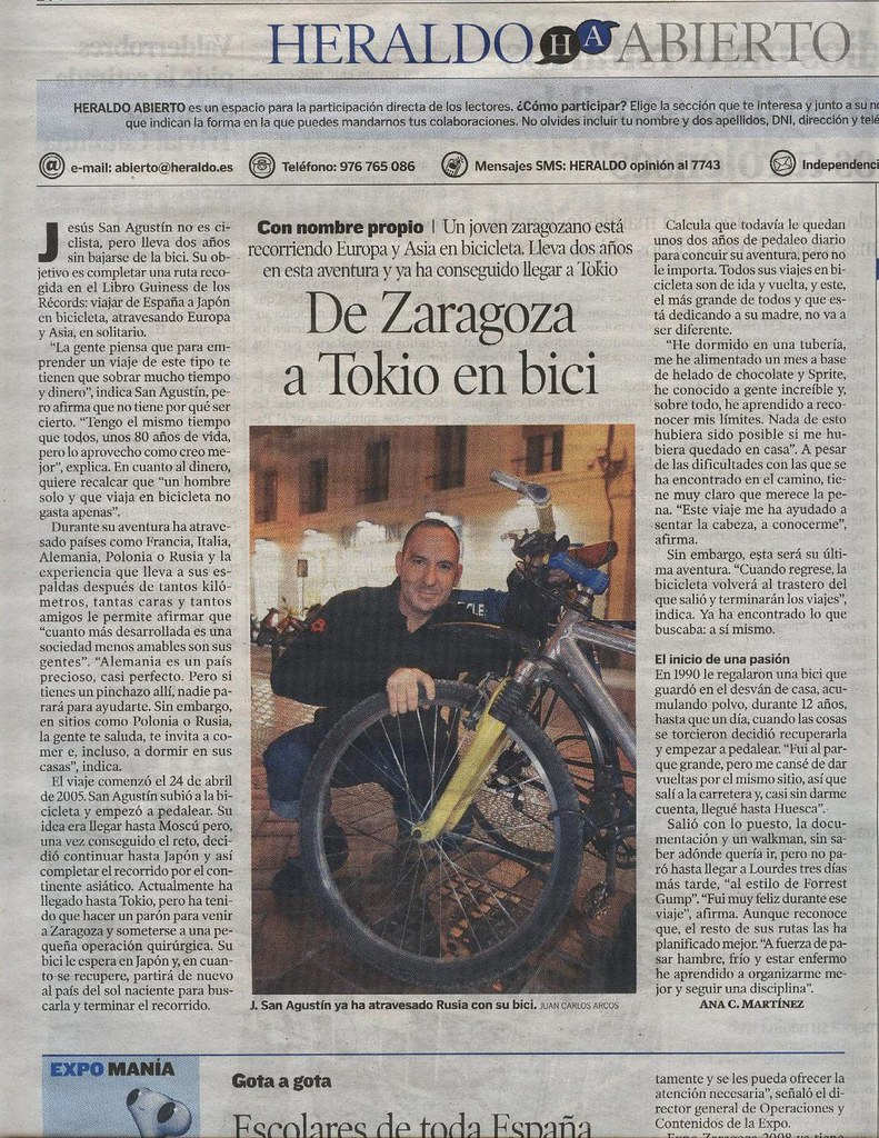 Spanish Newspaper Heraldo  @jsanag | Spanish Newspaper Heral