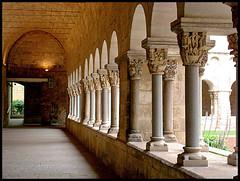 Claustre Monestir de Sant Cugat by Lluïsa Palacio