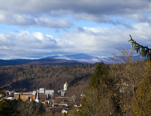 sky mountains vermont view capital montpelier