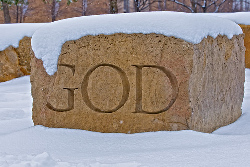 "Day #58-Snowy ""God"" Stone"