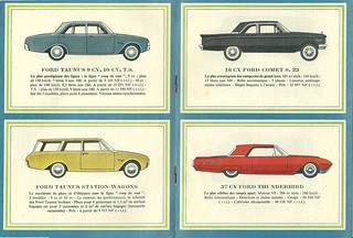1962 Ford France lineup