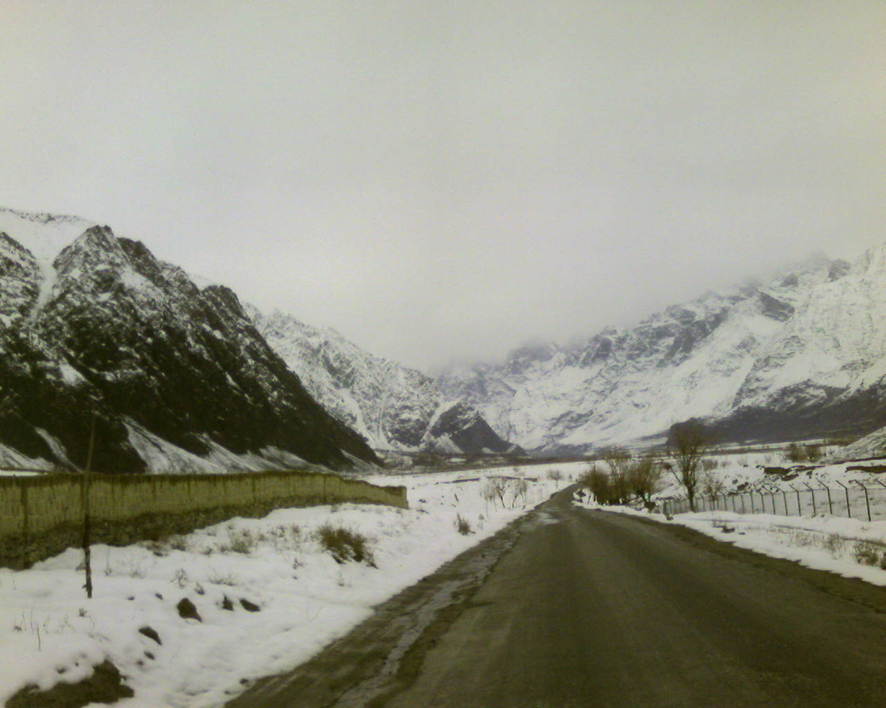Skardu in Winters