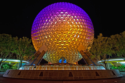 """EPCOT Center - SSE from 6"""" above the ground 