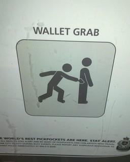 Wallet Grab   by balleyne